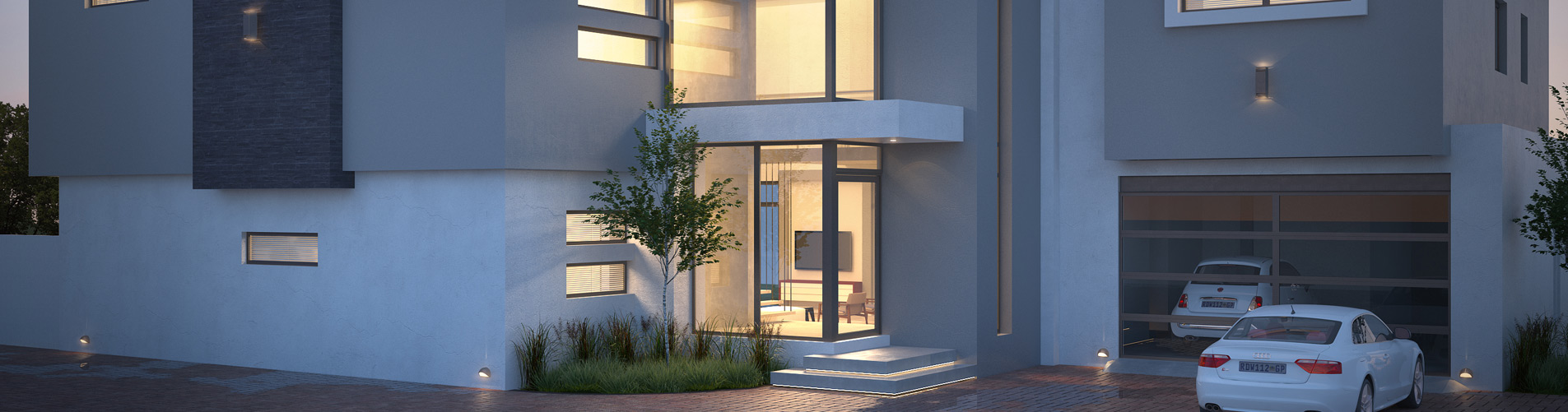 3D Architectural Rendering of Exterior