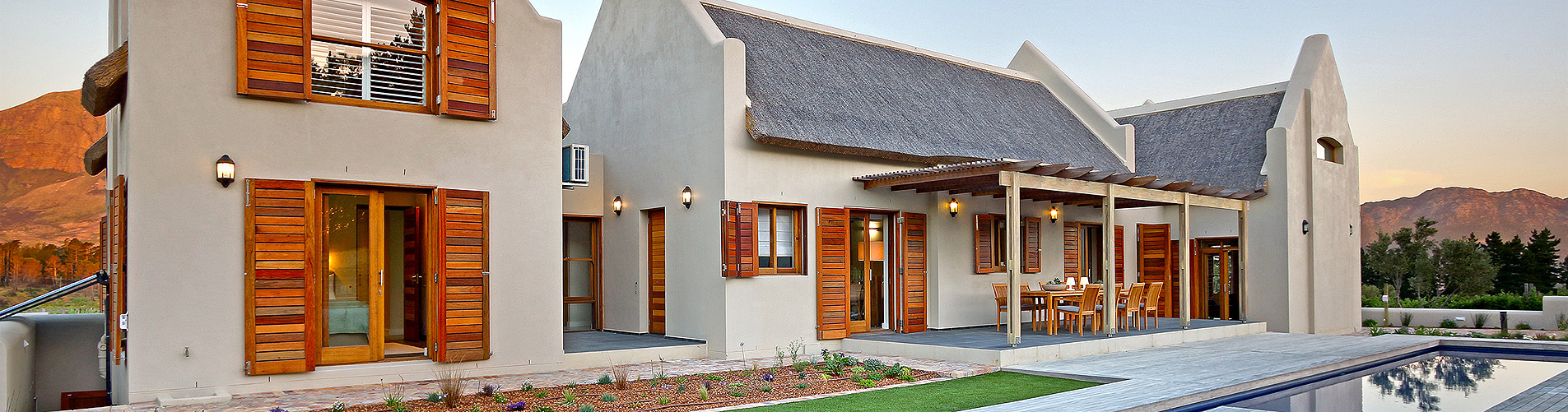 Exterior Guest House Photography in Cape Town