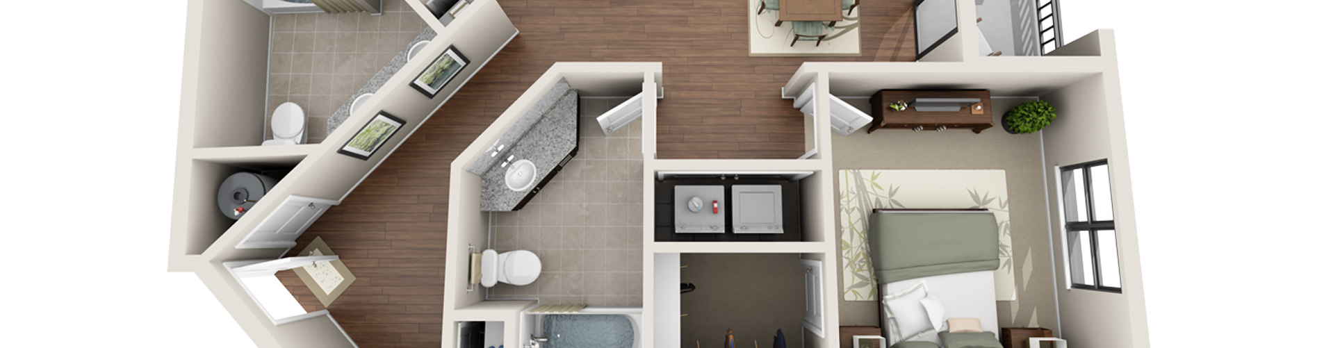 3D Architectural Floor Plan